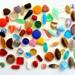 Szklane perły ściskane